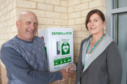 Defibrillators ensure every second counts