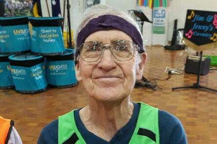Bethanie Beachside competes in the LiveLighter Aged Care Games